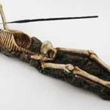 Skeleton Incense Holder