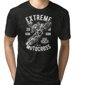 'MOTOCROSS' T-Shirt by Super3