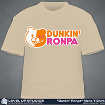 """Dunkin' Ronpa"" Mens & Ladies T-Shirt"