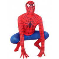 Classic Red And Blue Spiderman Lycra Spandex Super Hero Costume Full Body Zentai Suit [TXL015] - $36.99 : Zentai, Sexy Lingerie, Zentai Suit, Chemise