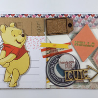 Grab bag #19 - 20 pieces - Paper/Planner/Project life/Scrapbook /Scrapbooking/Embellishments