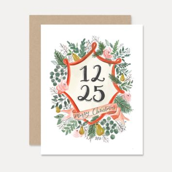 12.25 - A2 Note Card