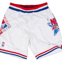 ONETOW 1991 NBA All Star Game NBA Authentic Shorts