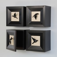 Raven Storage Box by Kevin Irvin: Wood Cabinet | Artful Home