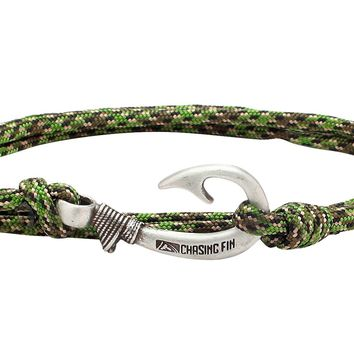 Canadian Camo Fish Hook Bracelet