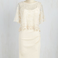 Long Beyond the Bells Dress in Ivory