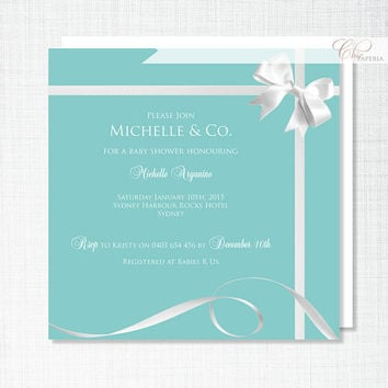 Shop Tiffany S Baby Shower Invitations On Wanelo