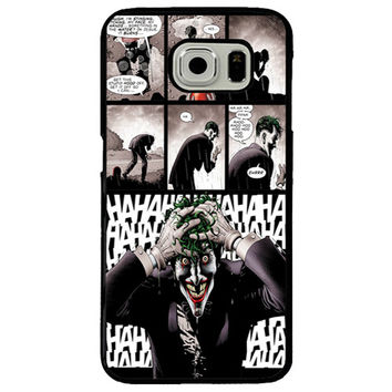 Killing Joke (Joker) TPU+PC Case For Samsung Galaxy S8