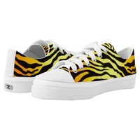 Tiger Stripes Low-Top Sneakers