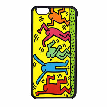 Keith Haring Pop Art iPhone 6 Case