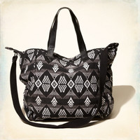 Woven Pattern Tote Bag