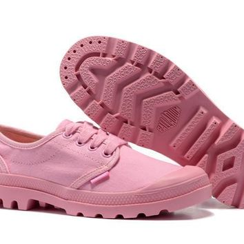 Palladium Pampa M65 Oxford Women Low Boots Pink - Beauty Ticks