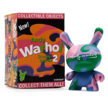 Kidrobot x Andy Warhol 3-inch Dunny Series 2 SINGLE BLIND BOXED FIGURE