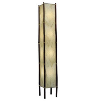 Eangee Giant Fortune Cocoa Leaf and Bamboo Floor Lamp Philippines