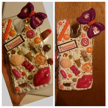 Sweet whipped dunkin donuts sweets yummy samsung galaxy  mega 6.3 case