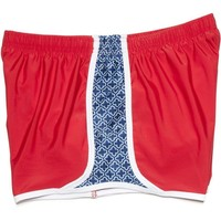 Campus Crush Shorts In Red by Krass & Co.