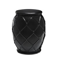Black Side Table | Eichholtz Drum Rope
