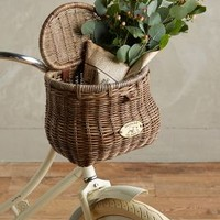 Wiscahisset Bike Basket by Anthropologie Taupe One Size House & Home