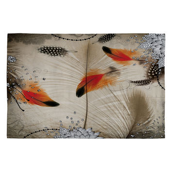 Iveta Abolina Feather Dance Woven Rug