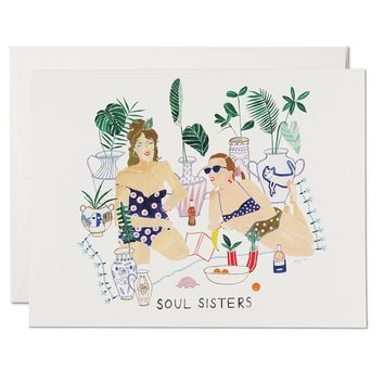 Soul Sisters Friendship Card