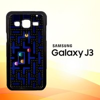 Pacman Game Z0602 Samsung Galaxy J3 Edition 2016 SM-J310 Case