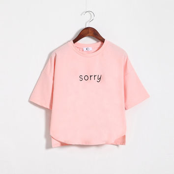 Loose Sorry T-shirt