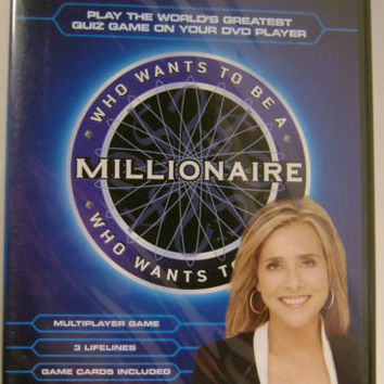 Lot 3 Who Wants To Be A Millionaire DVD Game Imagination Meredith Vieira Sealed