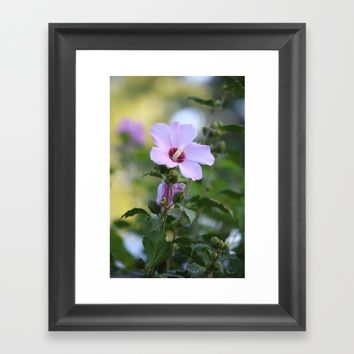 Au Naturale Framed Art Print by Theresa Campbell D'August Art