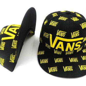 VANS Women Men Embroidery Sports Sun Hat Hip Hop Baseball Cap Hat-3