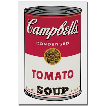 Andy Warhol Campbell's Soup Can 1965 Pop Art Print