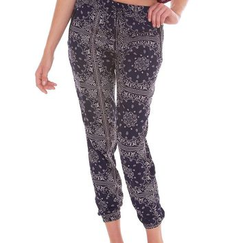 Different Occasion Slouchy Trousers - Navy