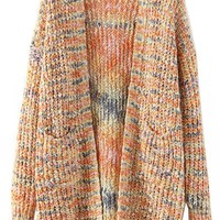 Fetching Open-Front Long Cardigan - OASAP.com