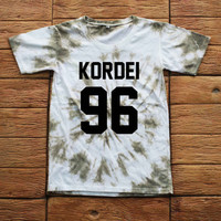 Normani Kordei Fifth Harmony Tie dye Shirt Tye Dye Shirt Black Shirt