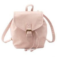 Blush Mini Bucket Backpack by Charlotte Russe