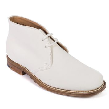 Church's Women's White Suede Ankle Desert Boots