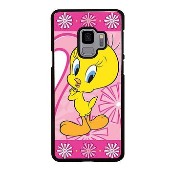 TWEETY BIRD Looney Tunes Samsung Galaxy S3 S4 S5 S6 S7 Edge S8 S9 Plus, Note 3 4 5 119