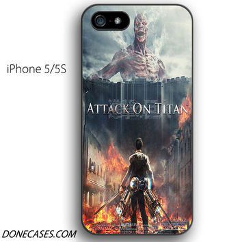 attack of titans iPhone 5 / 5S Case