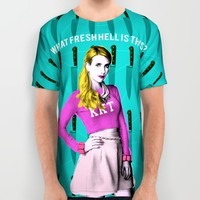 Scream Queens - Chanel#1 ' What Fresh Hell Is This?' All Over Print Shirt by Binge Designs | Society6