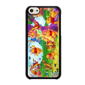 winnie the pooh cartoon iphone 5c case cover  number 1