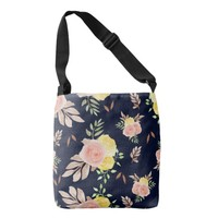 Autumn Floral Crossbody Bag