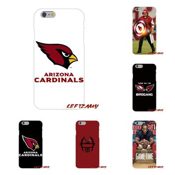 Arizona Cardinals Silicone Phone Case Covers For Sony Xperia M2 M4 M5 E3 XA Aqua Z Z1 Z2 Z3 Z5 compact LG K4 7 8 10 V20 V30 2017
