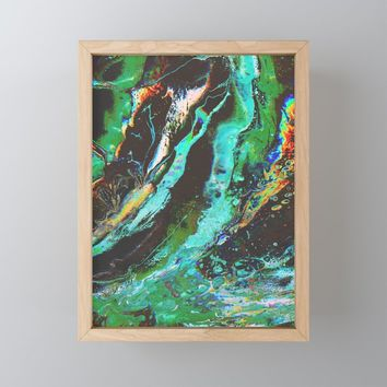 Amplify Framed Mini Art Print by duckyb