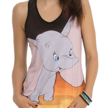 Disney Dumbo Big Ears Girls Tank Top