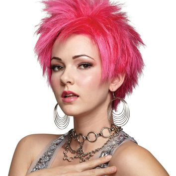 Hot Pink Vivid Wig for 2017