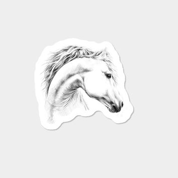 Horse Sticker By EDrawings38 Design By Humans
