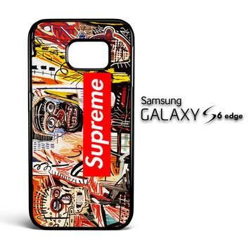 supreme to release collection featuring basquiats V1635 Samsung Galaxy S6 Edge Case