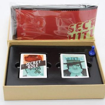 Secret Hitlers Board Card Game A Hidden Identity Game For 5 10 Players English Vision With English Instructions