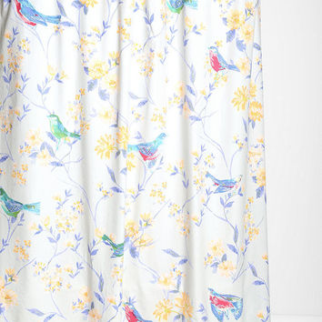 Plum Bow Sparrow Shower Curtain From Urban Outfitters Epic