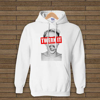 miley cyrus exclusive twerk it grey hoodie sweet hoodie