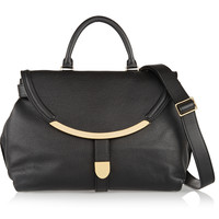 See by Chloé - Lizzie textured-leather shoulder bag